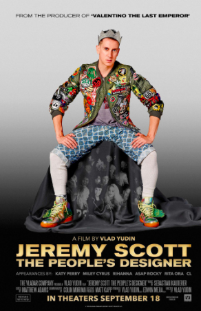 - Jeremy Scott: The People's Designer (2015)An intimate look as Jeremy tells his story in his own words. Catch a glimpse of his journey growing up in Kansas City farm country to becoming the Creative Director at Moschino.