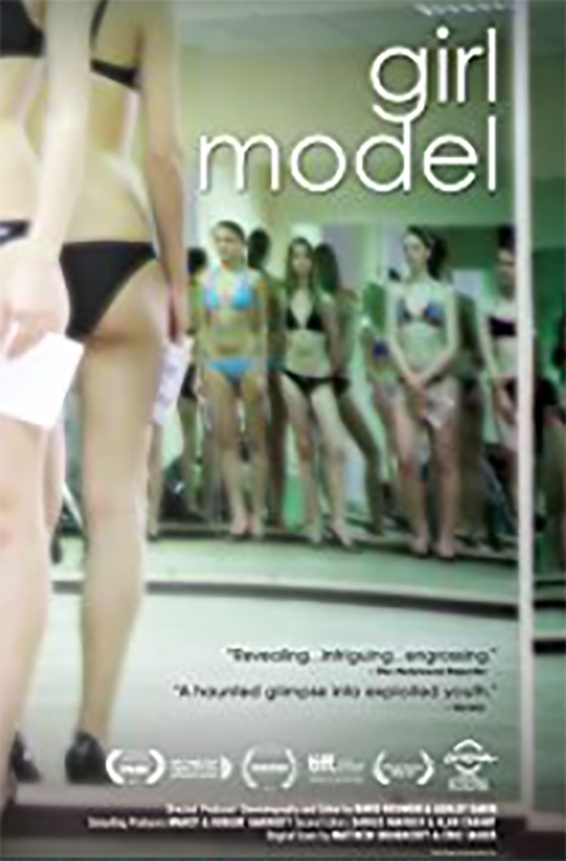 - Girl Model (2011)Girl Model is a documentary film following Ashley, a conflicted model scout recruiting young Siberian girls to model in Japan. Nadya, a recruited 13-year -old who gets financially taken advantage of during her modeling work in Japan finds the industry to be less glamorous than it originally seemed.