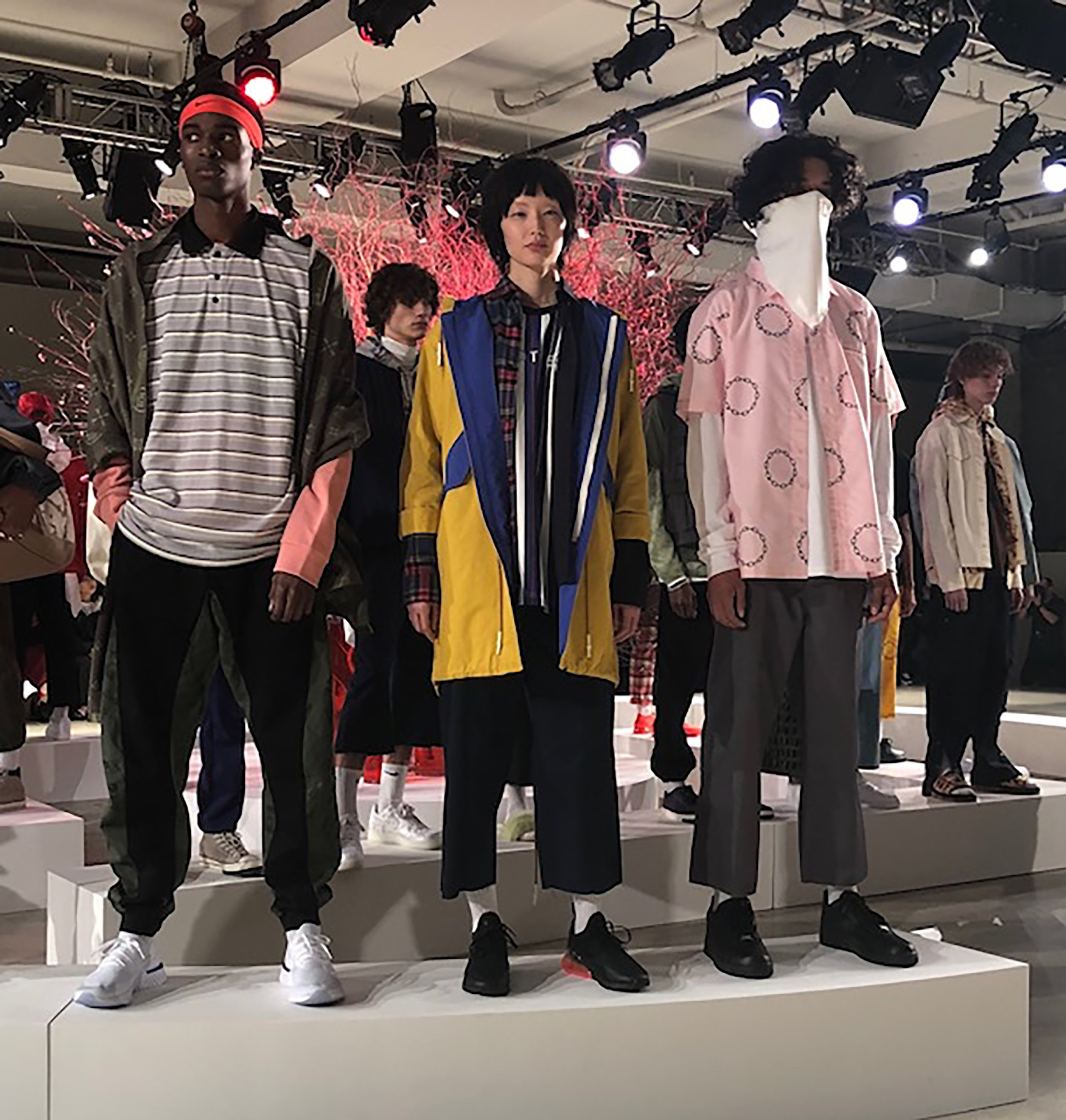 - CLOT:All different ethnicities and cultures join together on the runway.