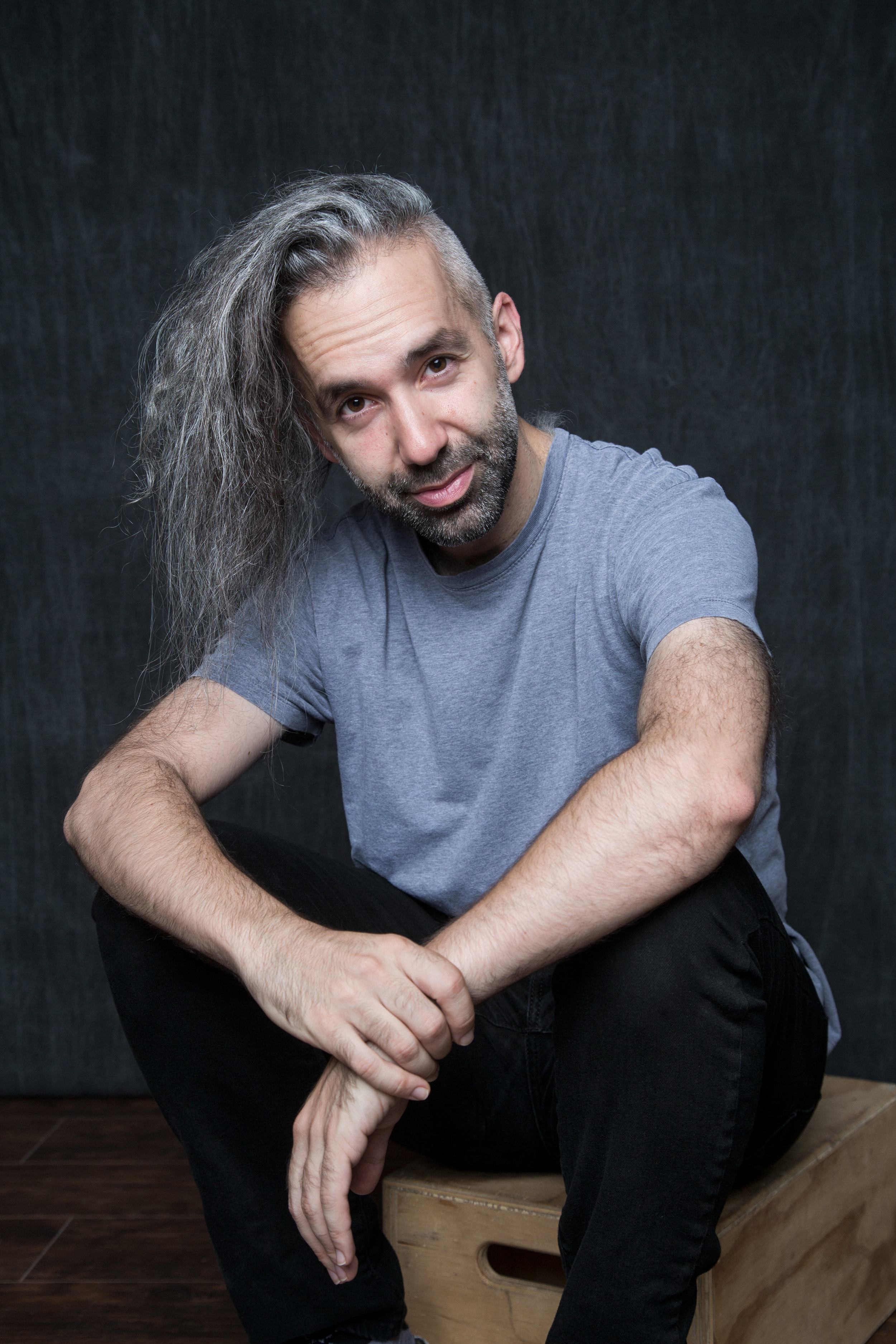 Andrew - Gray at:17IG: @andrewjnemrWhat does being gray mean to you?I count it as a marker of life fully lived. It makes me mature, substantive. I feel close to my dad, too (he started going gray early as well), and a little like Gandolf.