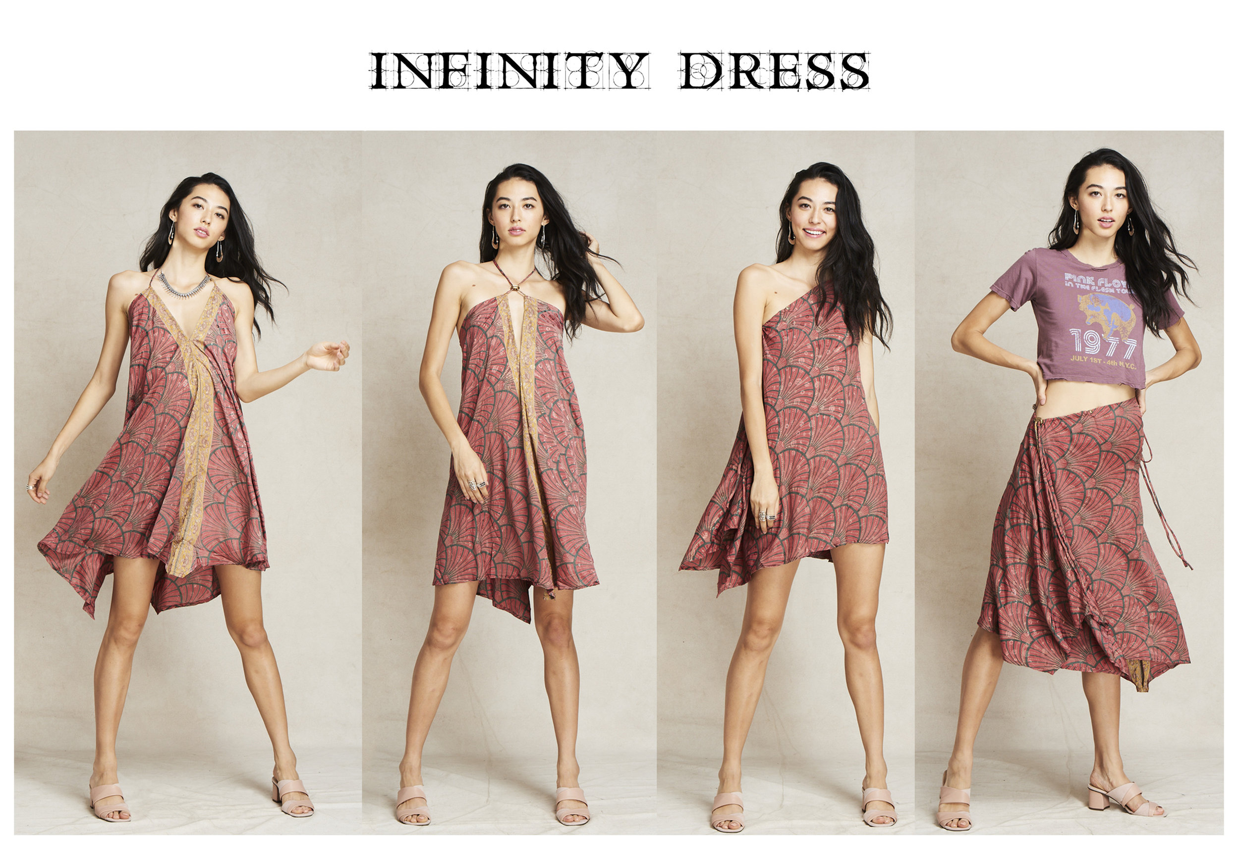 *Infinity Dress is the multi-use dress, photographed by Fumie Hoppe