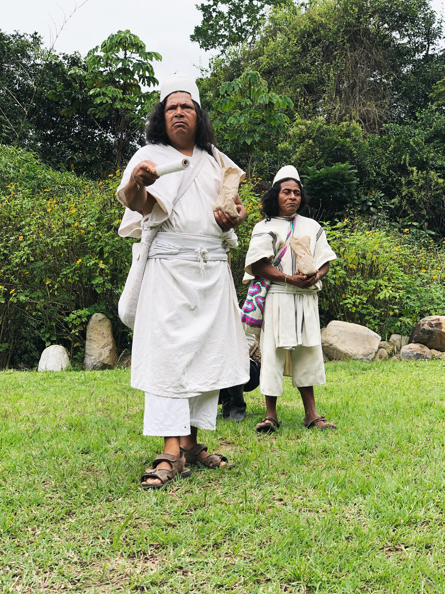 Arhuaco community leader: Mamo Photo courtesy of Hope Made In The World