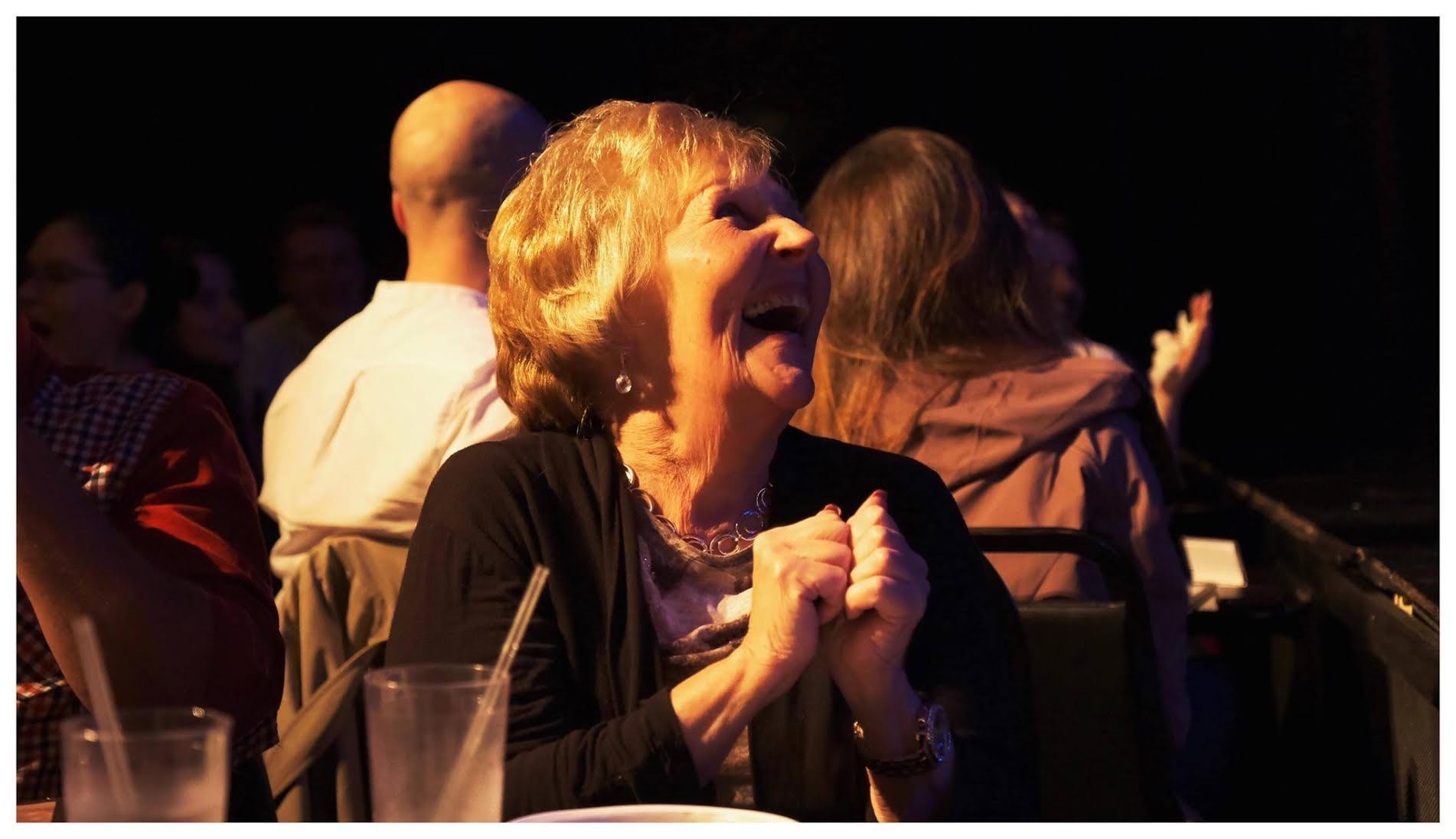 A happy grandma! Photo by  Murad Han Karaayvaz .