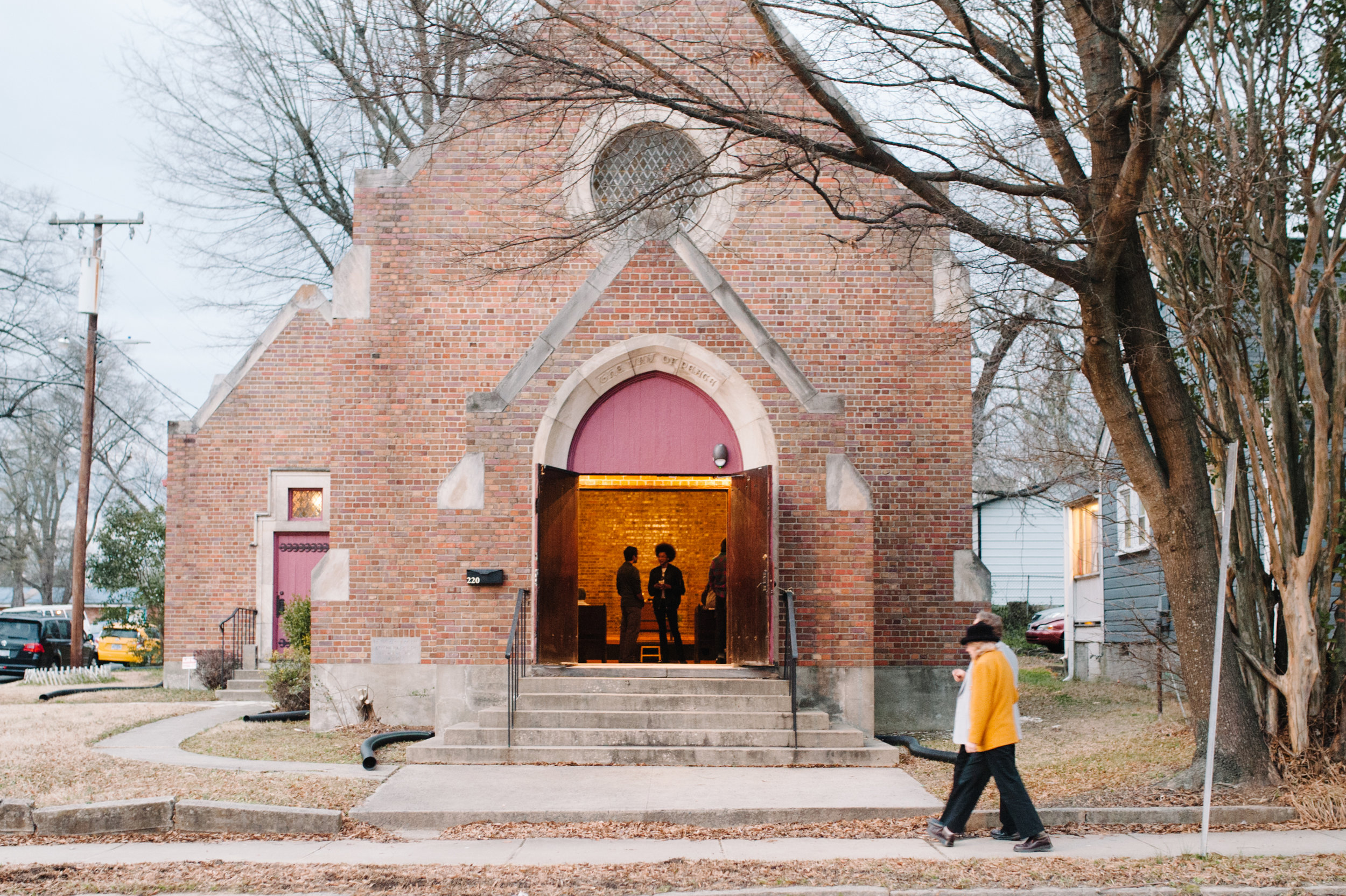 ENTER: nORTHSTAR CHURCH OF THE ARTS - Located in the heart of Downtown Durham,NorthStar is a sacred space for healing, creative expression and spiritual connectivity.NORTHSTAR hosts A MONTHLY SERIES OF art openings, performances and 3rd Sunday services that explore the intersections between creativity and spirituality.