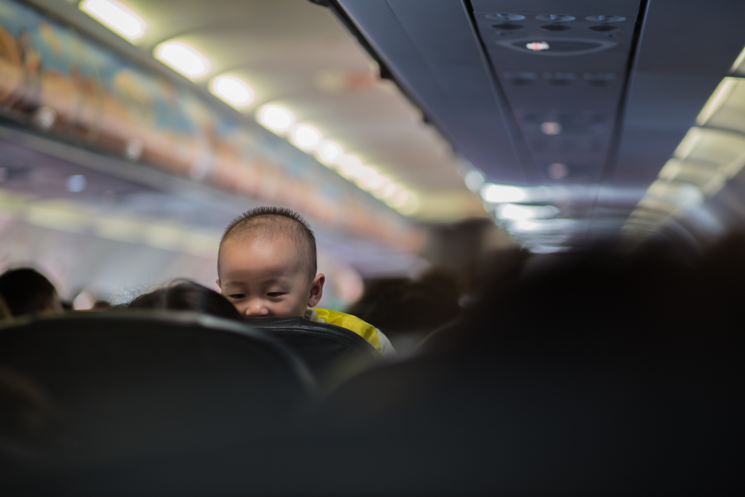 Tips for flying Postnatal.  Flying with Baby.  Photo Credit to Photo by  Octav Cado  on  Unsplash