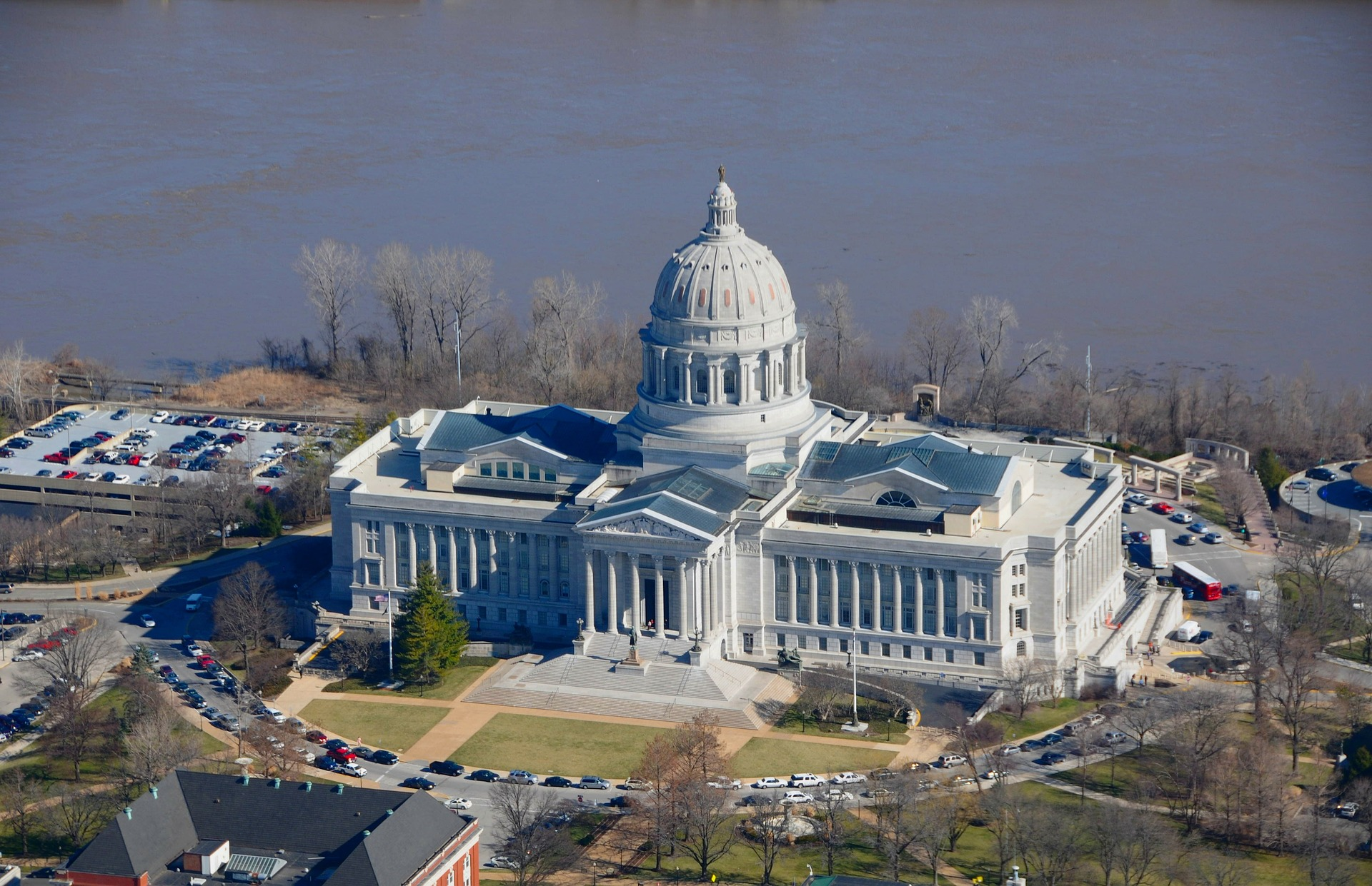 state capitol building - Jefferson city, mo