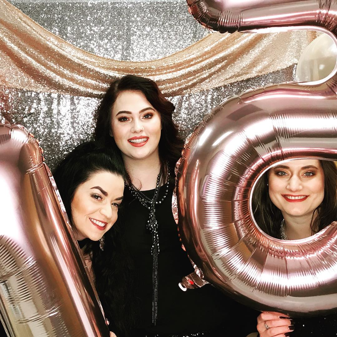 Congrats, New Skinsations, to 15 years! Pictured: Lindsey, Shelby, & Danielle
