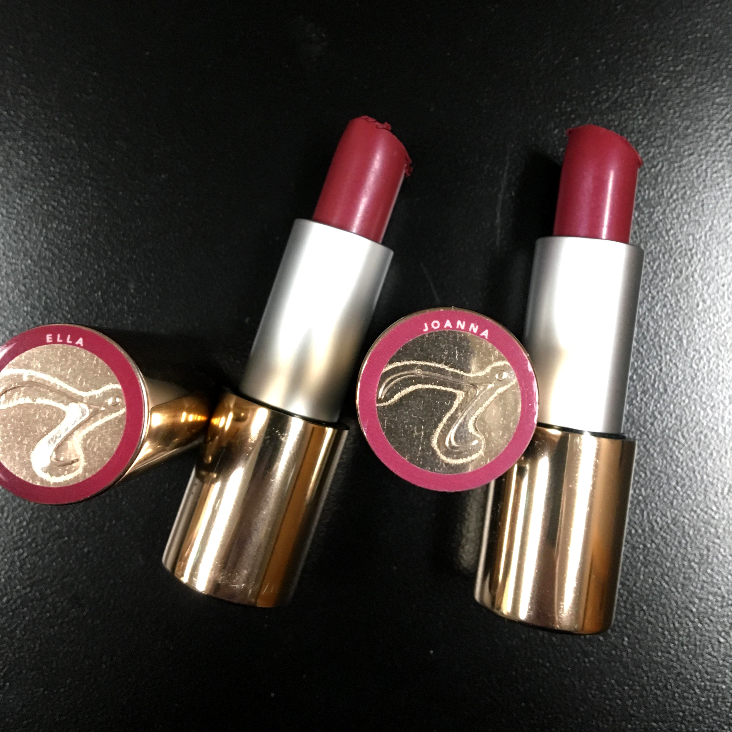 Current favorite lip colors for whiter teeth! See above for a special offer!