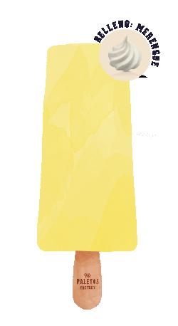 LIMÓN & MERENGUE   Helado de limón relleno con merengues