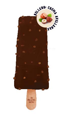 BOMBÓN ROCHER   Helado de avellanas con cobertura de chocolate italiano clásico y crocante de almendras