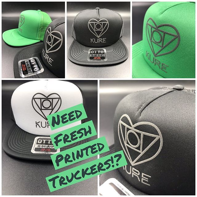 If you need awesome truckers for your business drop us a line info@darkoprintshop.com.  Keep on truckin'! #albuquerque #newmexico #smallbusiness #truckerhat #screenprinting #santafe #downtowngrowersmarket #unm #nmunited #newmexicotrue