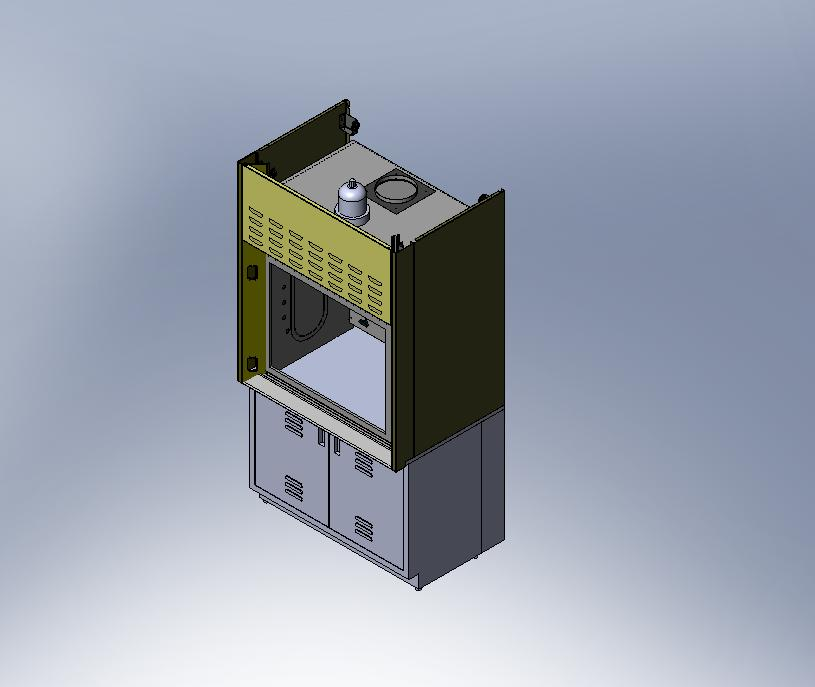 Laboratory Fume Hood Revit Files