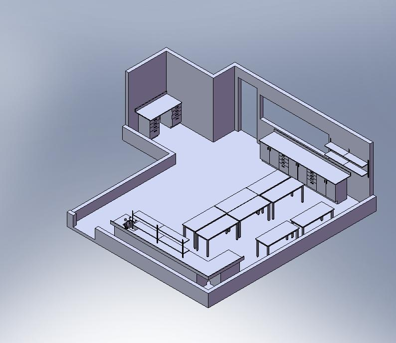 Free Laboratory Design Proposal for L'Oreal