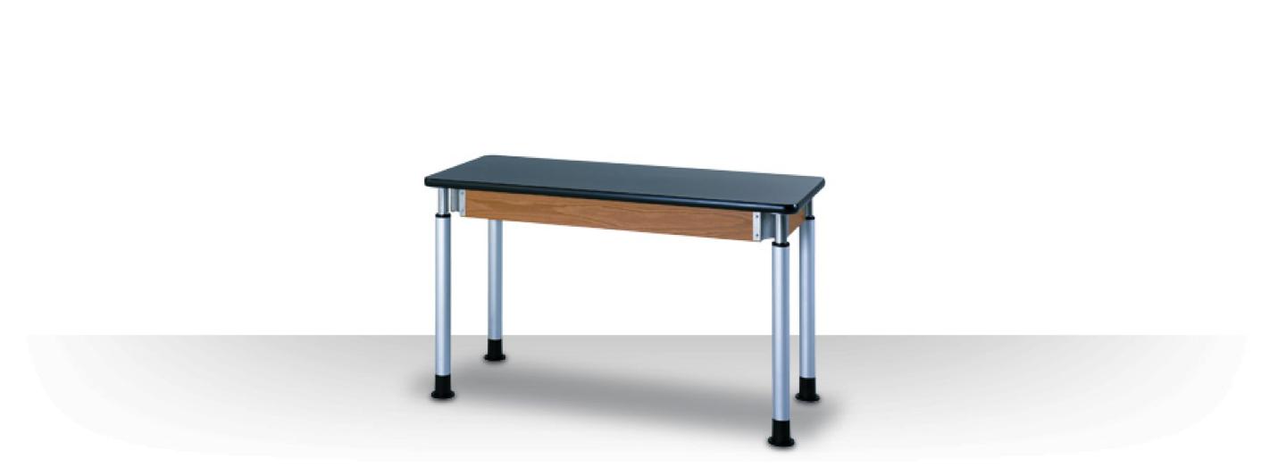Adjustable Student Lab Table