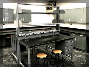 METAL LAB TABLES -