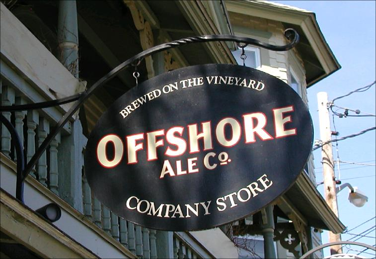 Offshore Ale Company sign