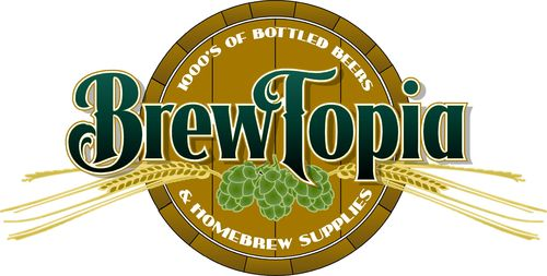 BrewTopia Logo Design