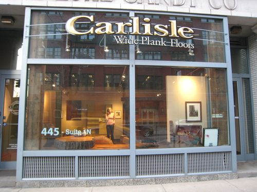 Carlisle Wide Plank Floors store front sign