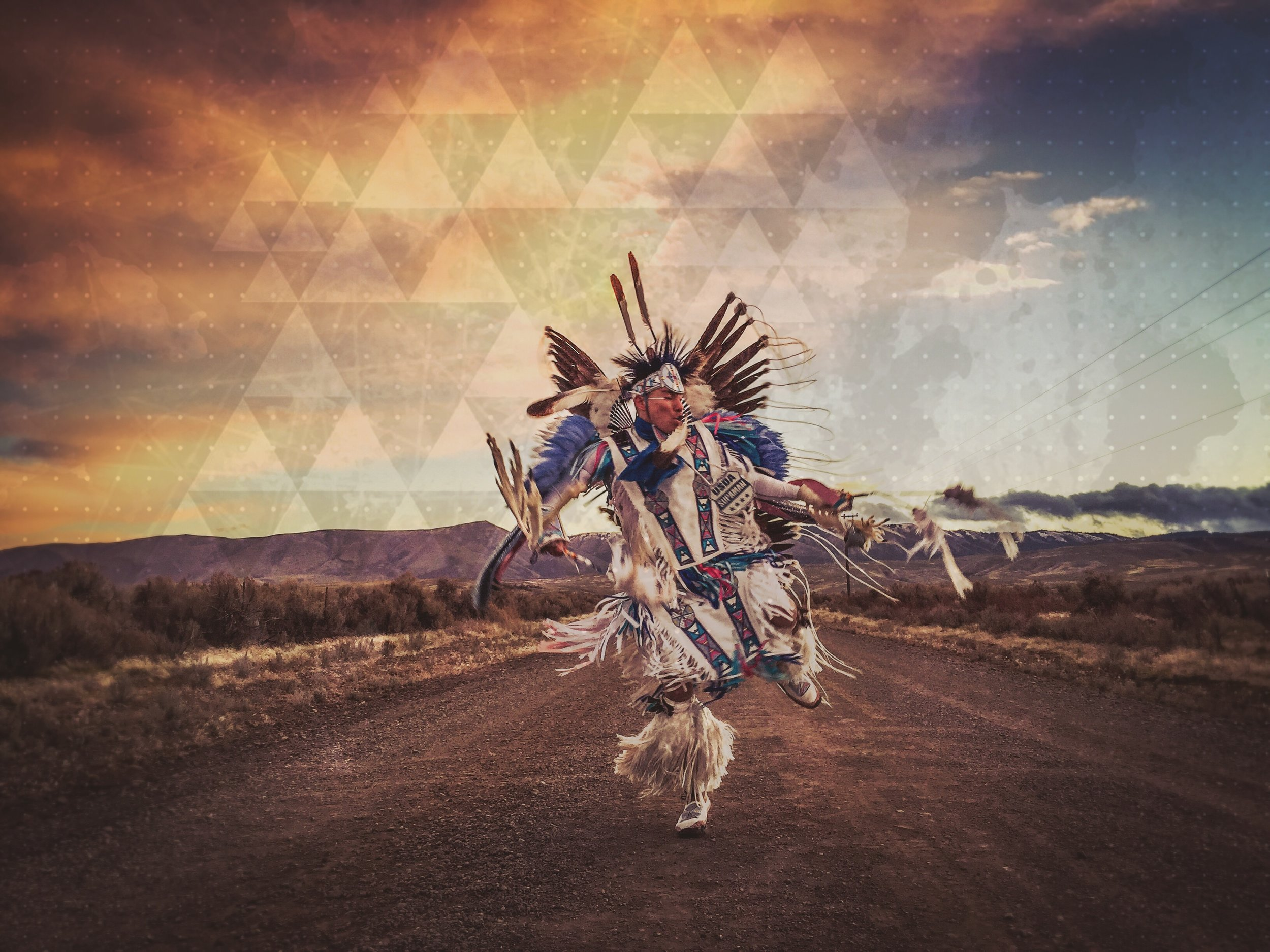 Supaman Native American Hip Hop Fancy Dancing