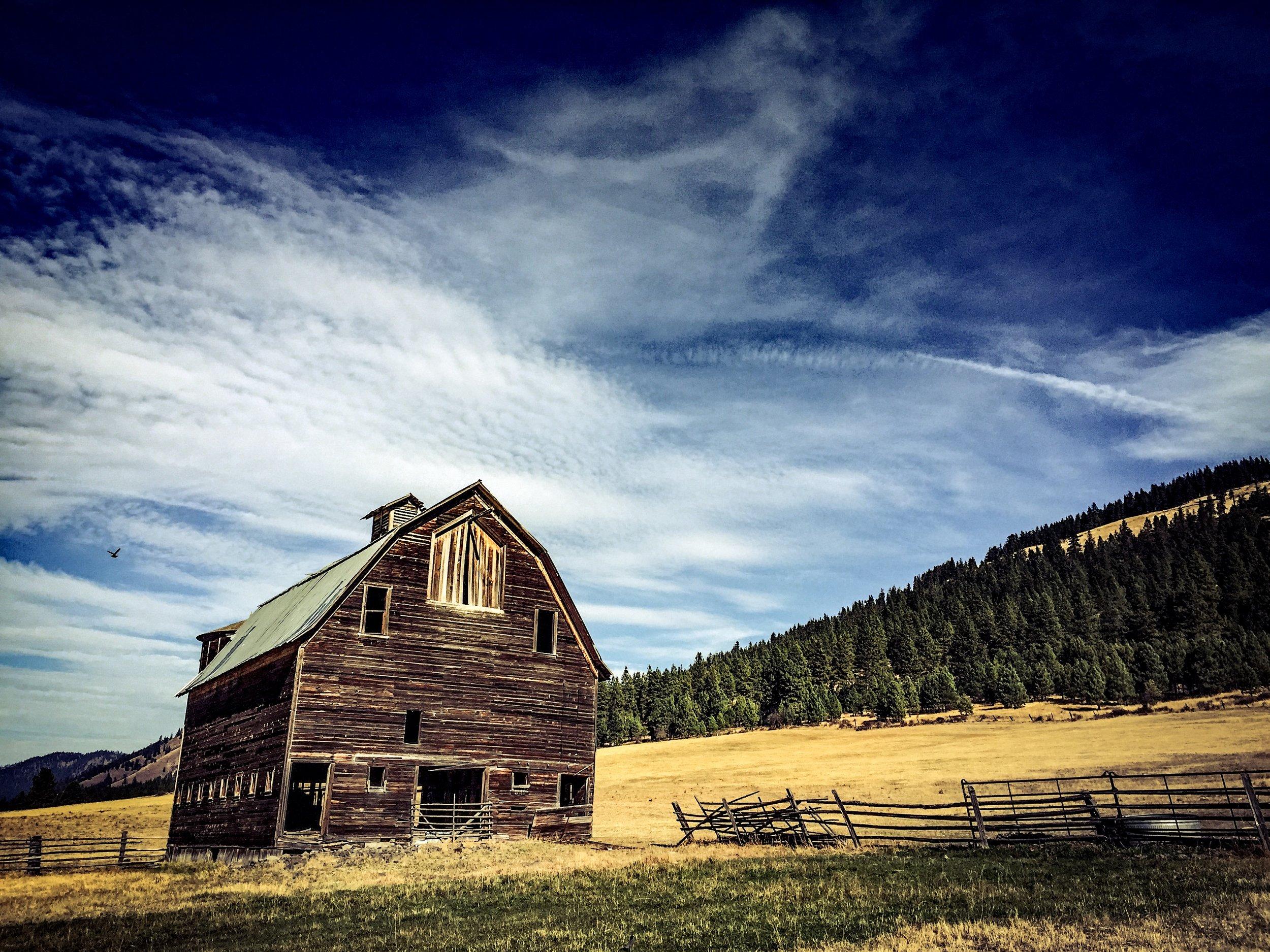 Ellensburg Kittitas Highway 97 Old Barn