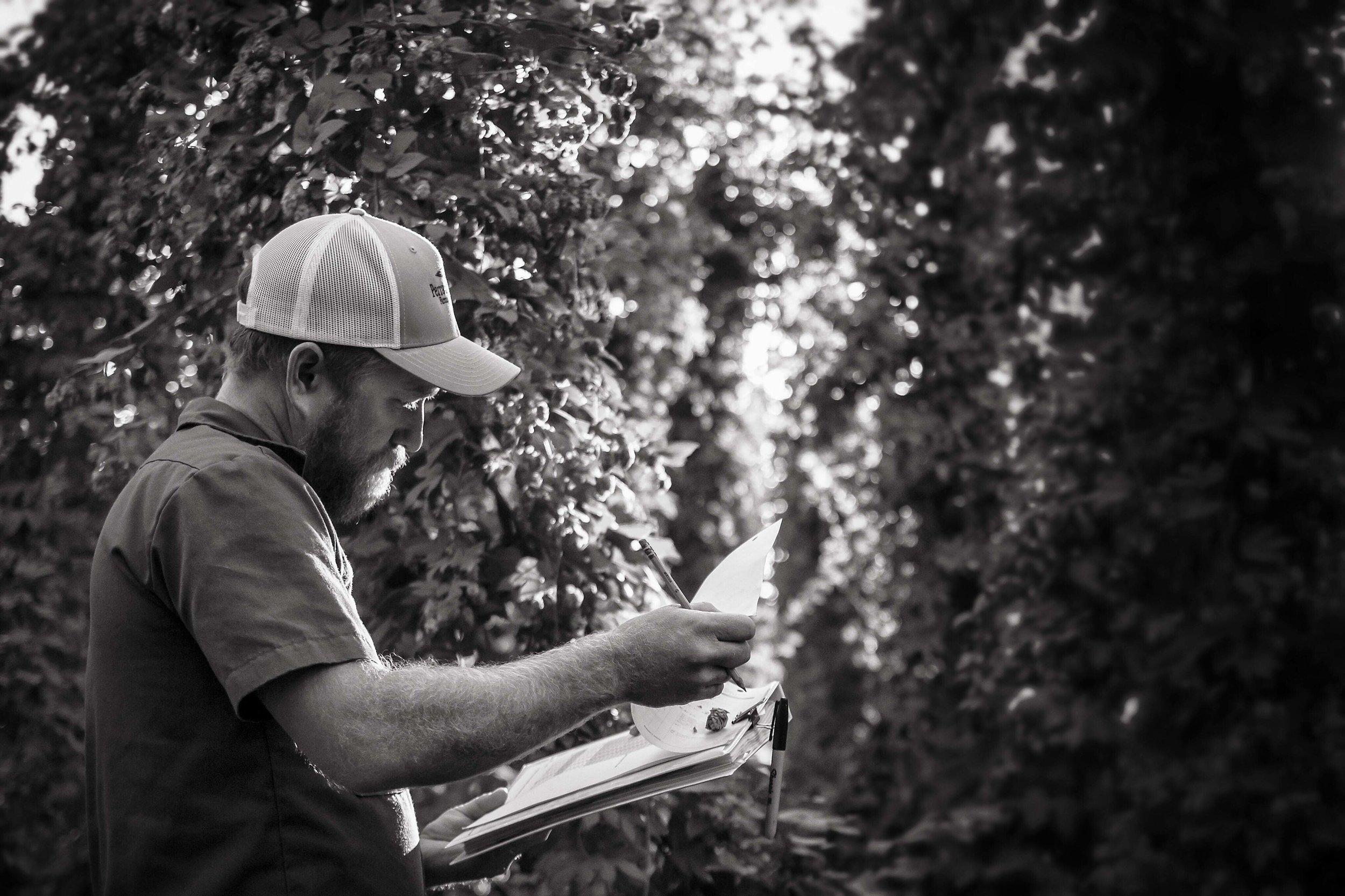 Jason Perrault Select Botanicals Group Hop Farmer Breeder