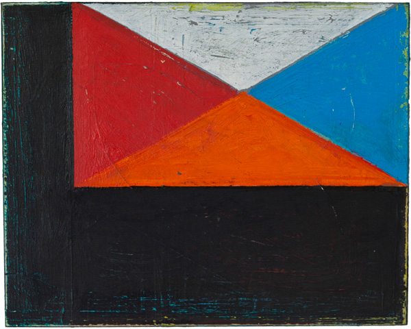"""#2757 8"""" x 10"""" Oil/Panel, 2014"""