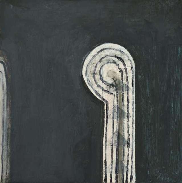 """#2648 10"""" x 10"""" Oil/Panel, 2011"""
