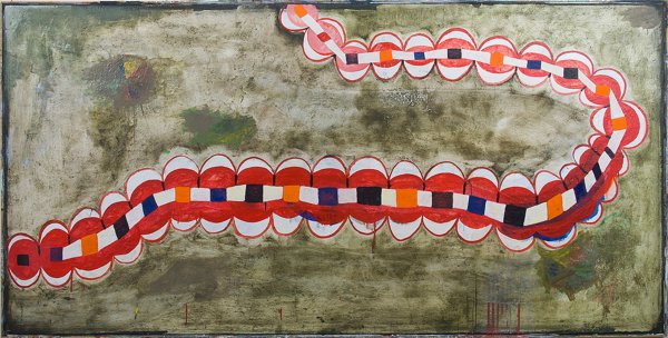 "#2701 48"" x 96"" Oil/Canvas, 2012"