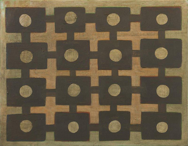 """#2705 11"""" x 14"""" Oil/Panel, 2011"""