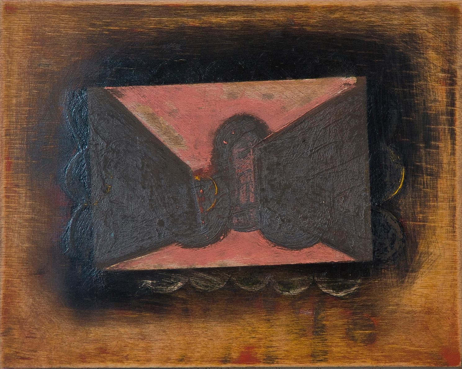 """#2703 8"""" x 10"""" Oil/Panel, 2012"""