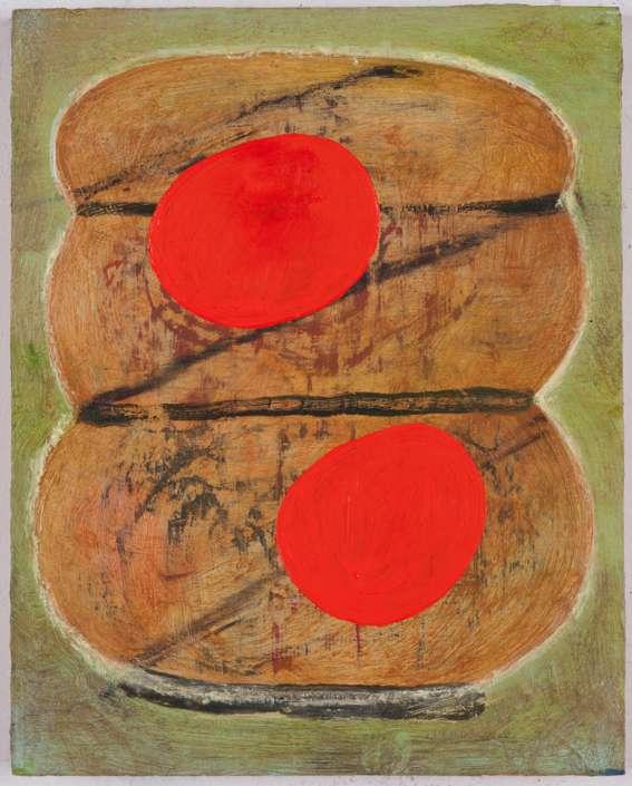"""#2746 10"""" x 8"""" Oil/Panel, 2013"""
