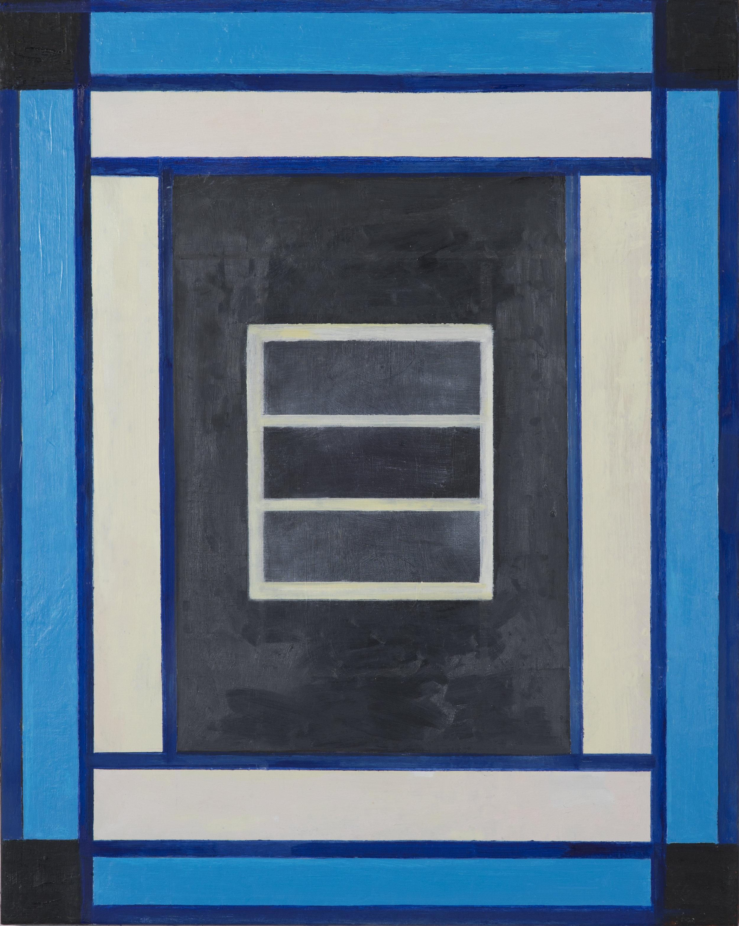"""#2800 30"""" x 24"""" Oil/Panel, 2016"""