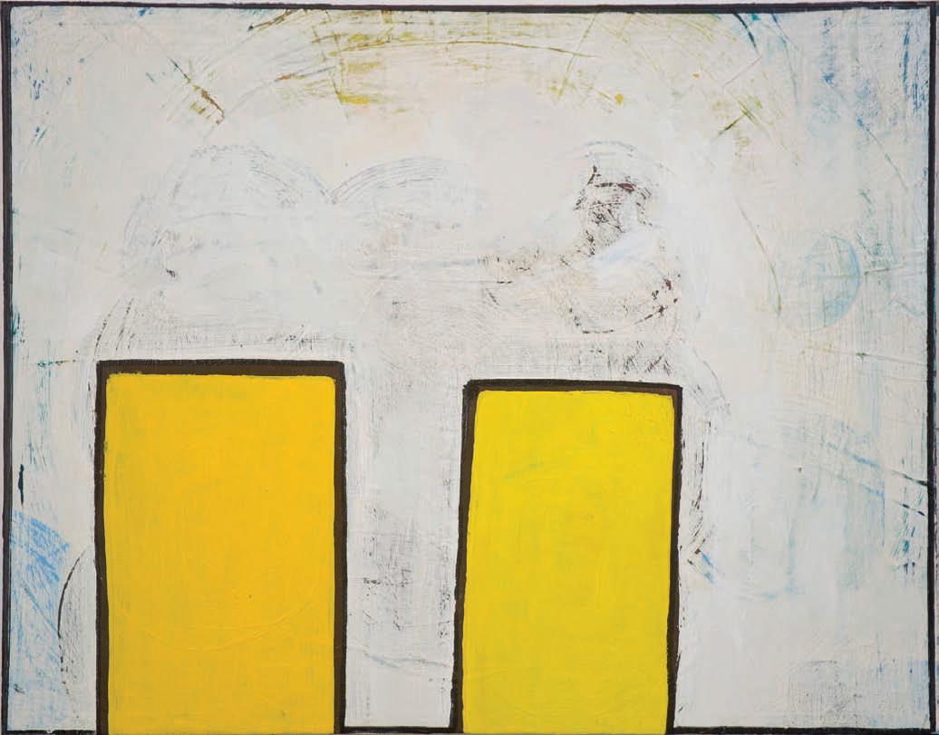 """#2704 11"""" x 14"""" Oil/Panel 2012"""