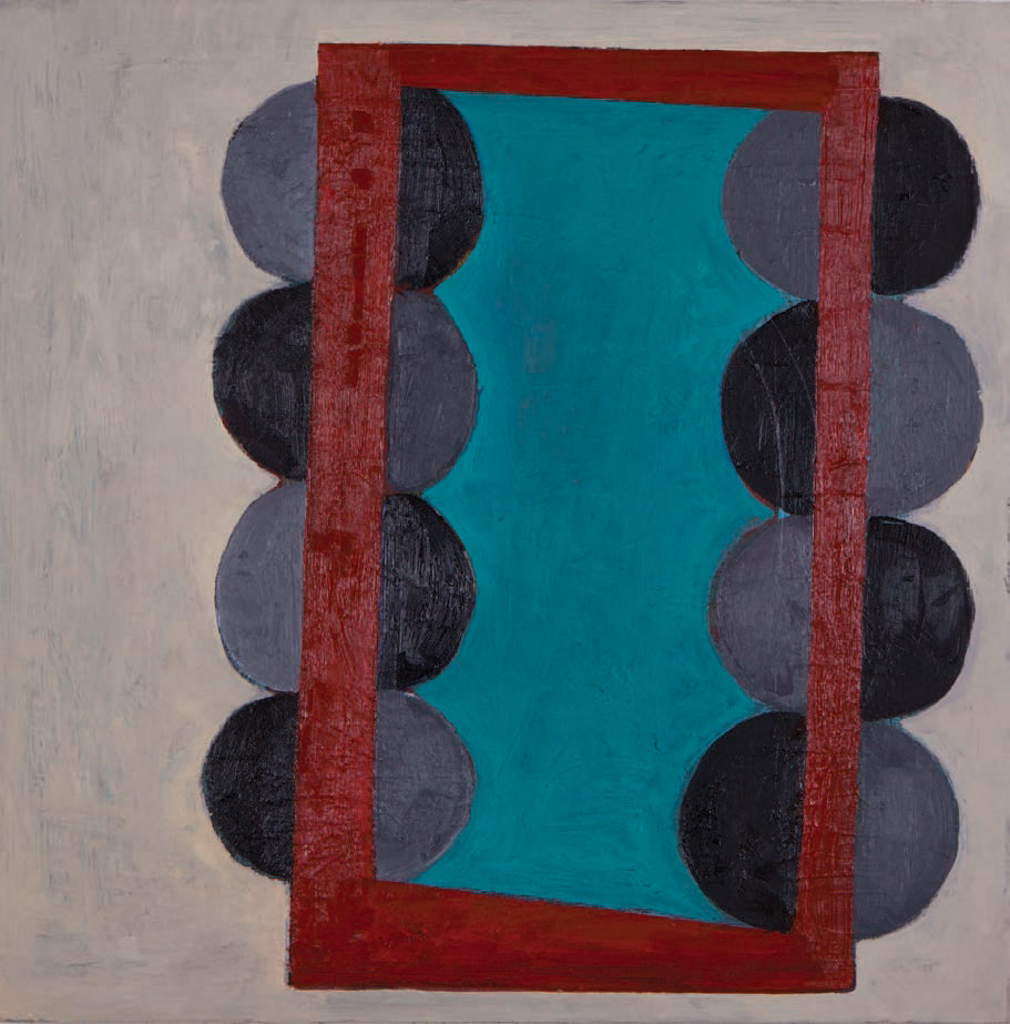 """#2735 18"""" x 18"""" Oil/Panel, 2013"""