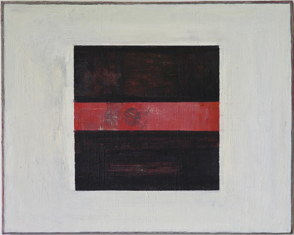 """#2754 16"""" x 20"""" Oil/Panel, 2014"""