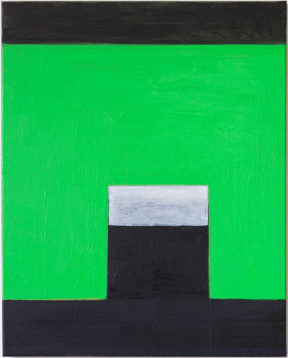 """#2758 16"""" x 20"""" Oil/Panel, 2014"""