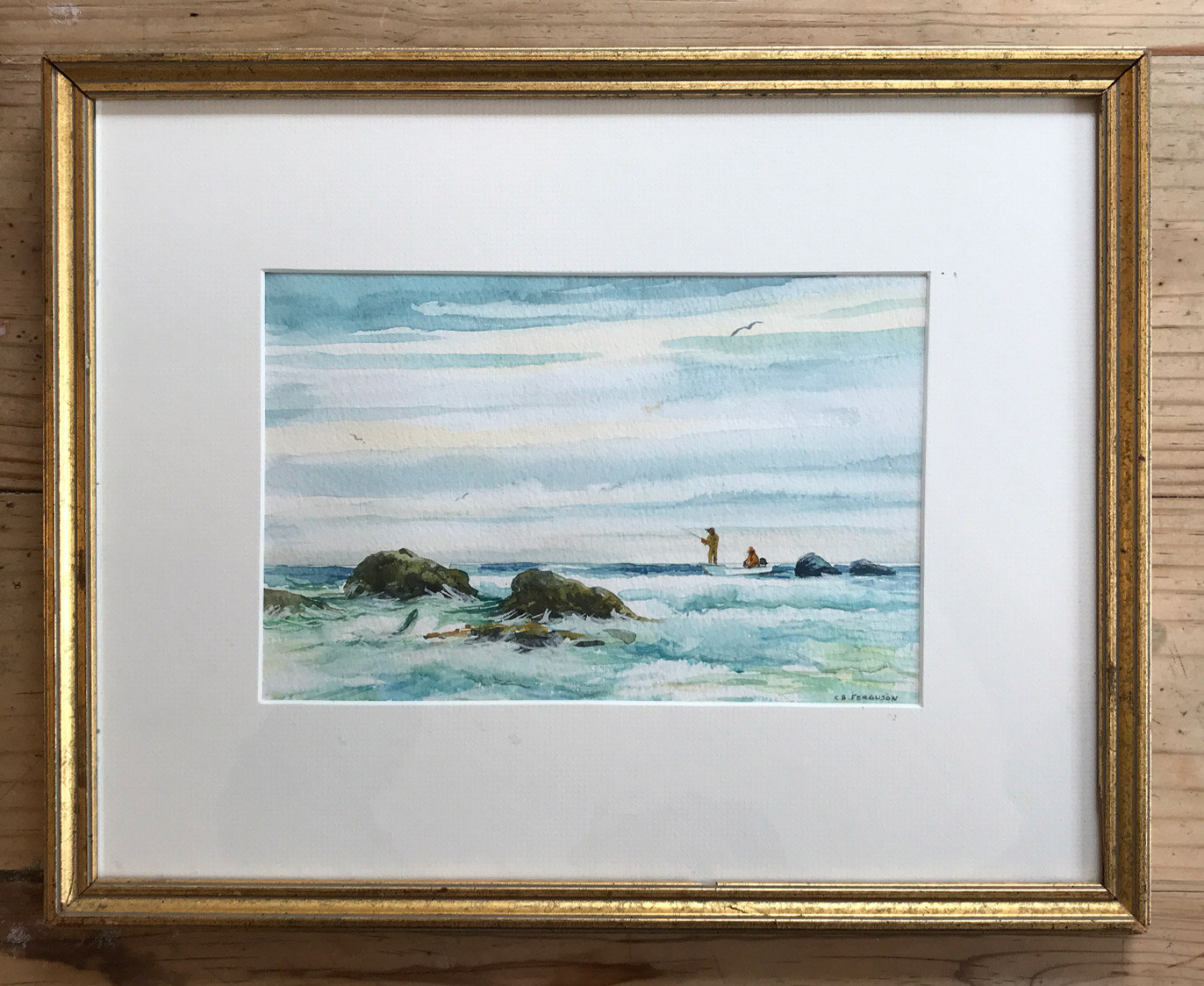Charles Ferguson watercolor