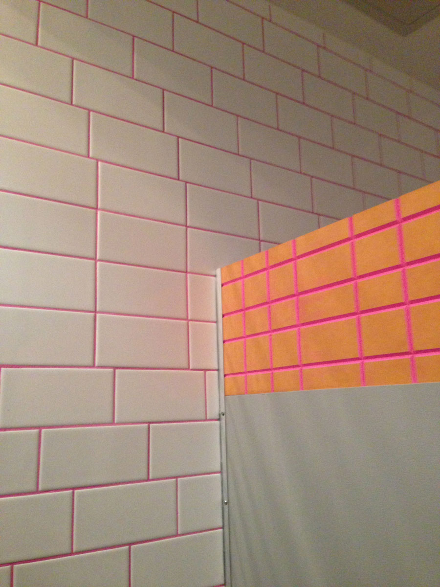 School bathroom, New York NY