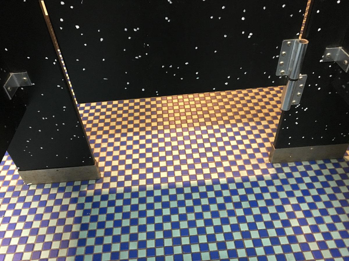 Movie theater bathroom, Vestal NY
