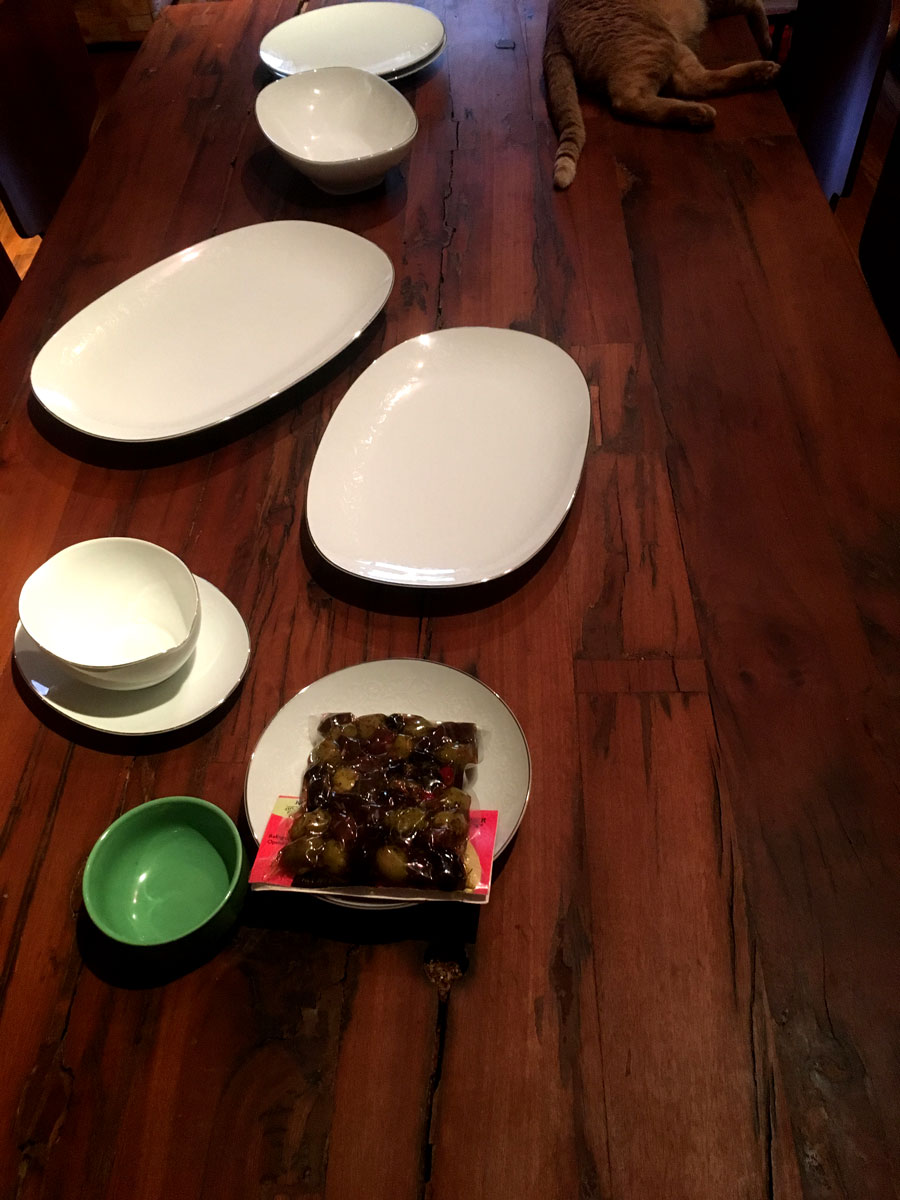 The spread [before]