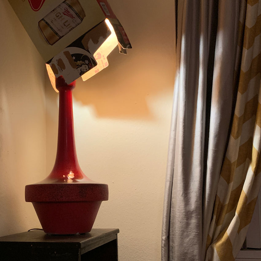 Classiest Lampshade Ever