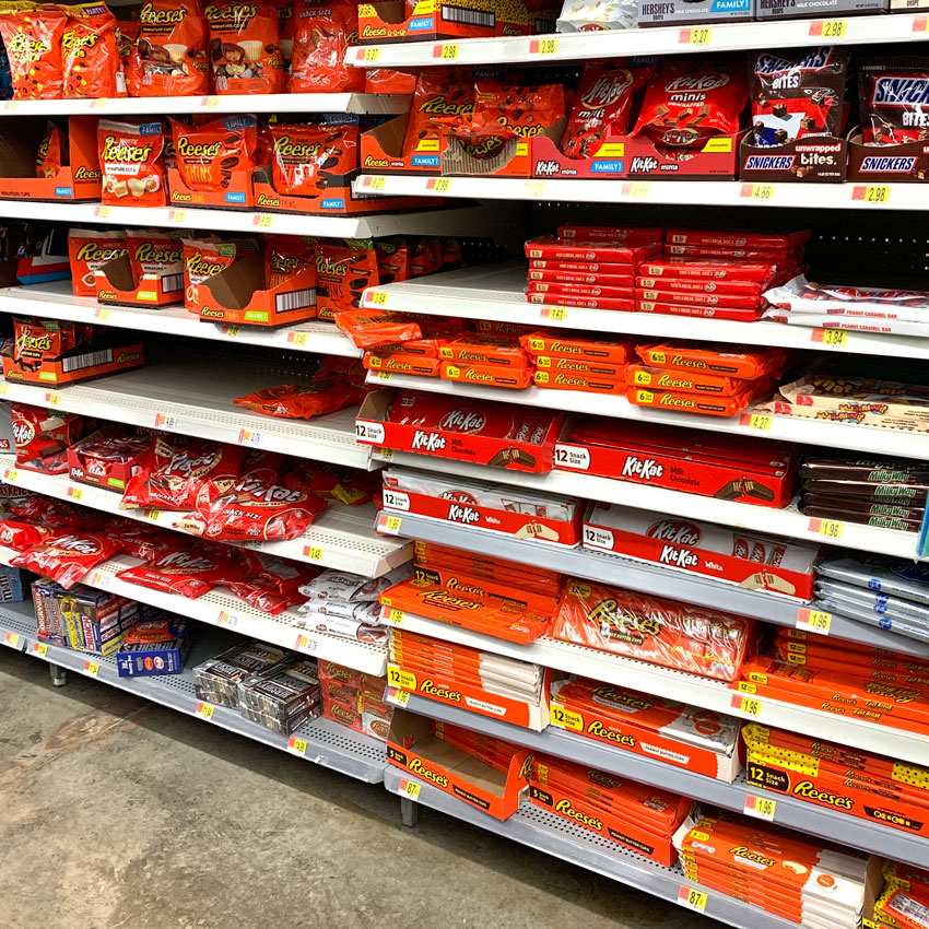 Look At All These Reese's Products!!!