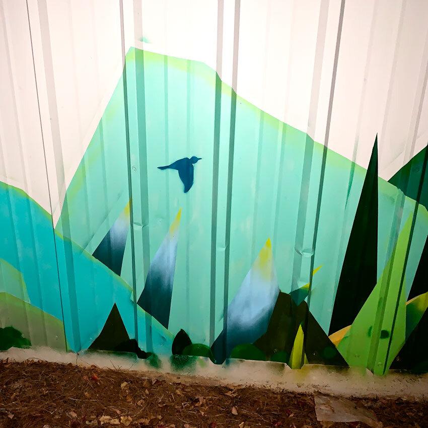 Painterly Graffiti In ATL