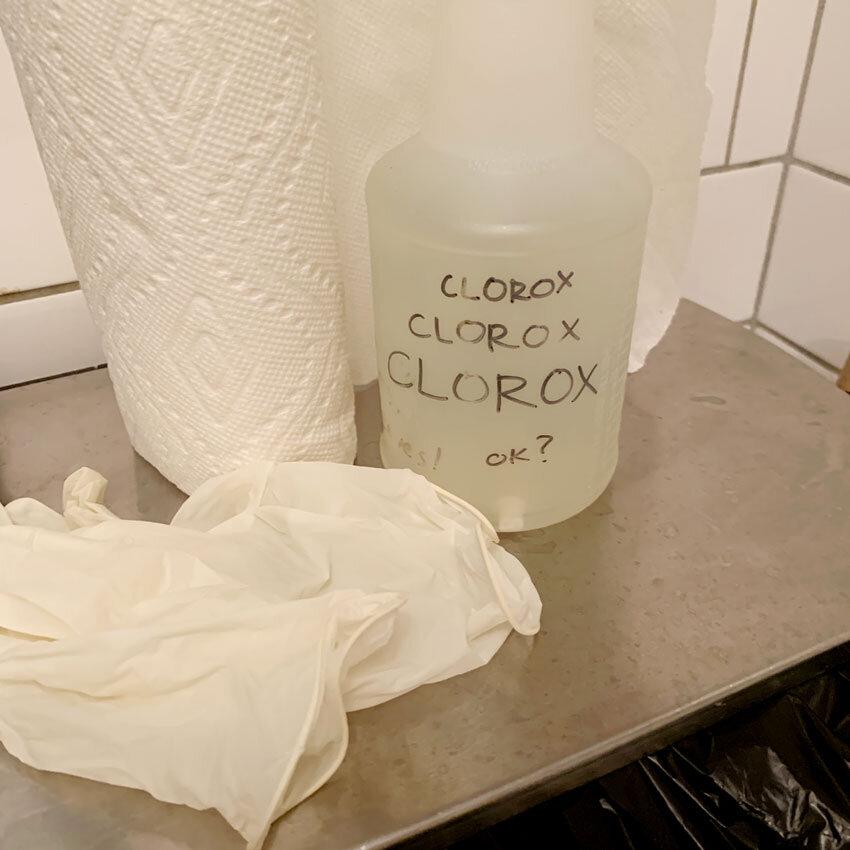 Clorox Clorox CLOROX Ok?