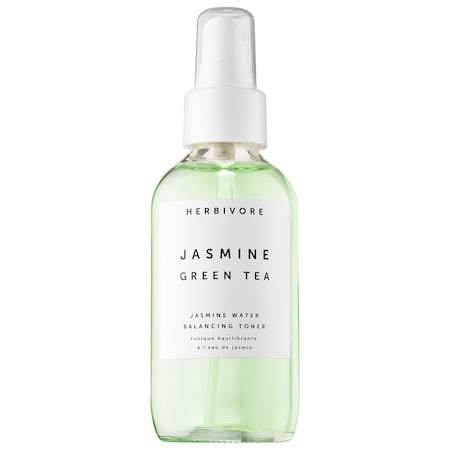 Herbivore Botanicals Jasmine Green Tea Balancing Toner - I've been using this toner for a couple months and I recently posted a review about it. It still is my favorite toner and I'm going to be really sad when I run out! My skin loves the balance of ingredients that target different issues. It's gentle, not drying and doesn't have any scary ingredients in it. Toners have been hard for me to love until I tried Herbivore Botanicals :)