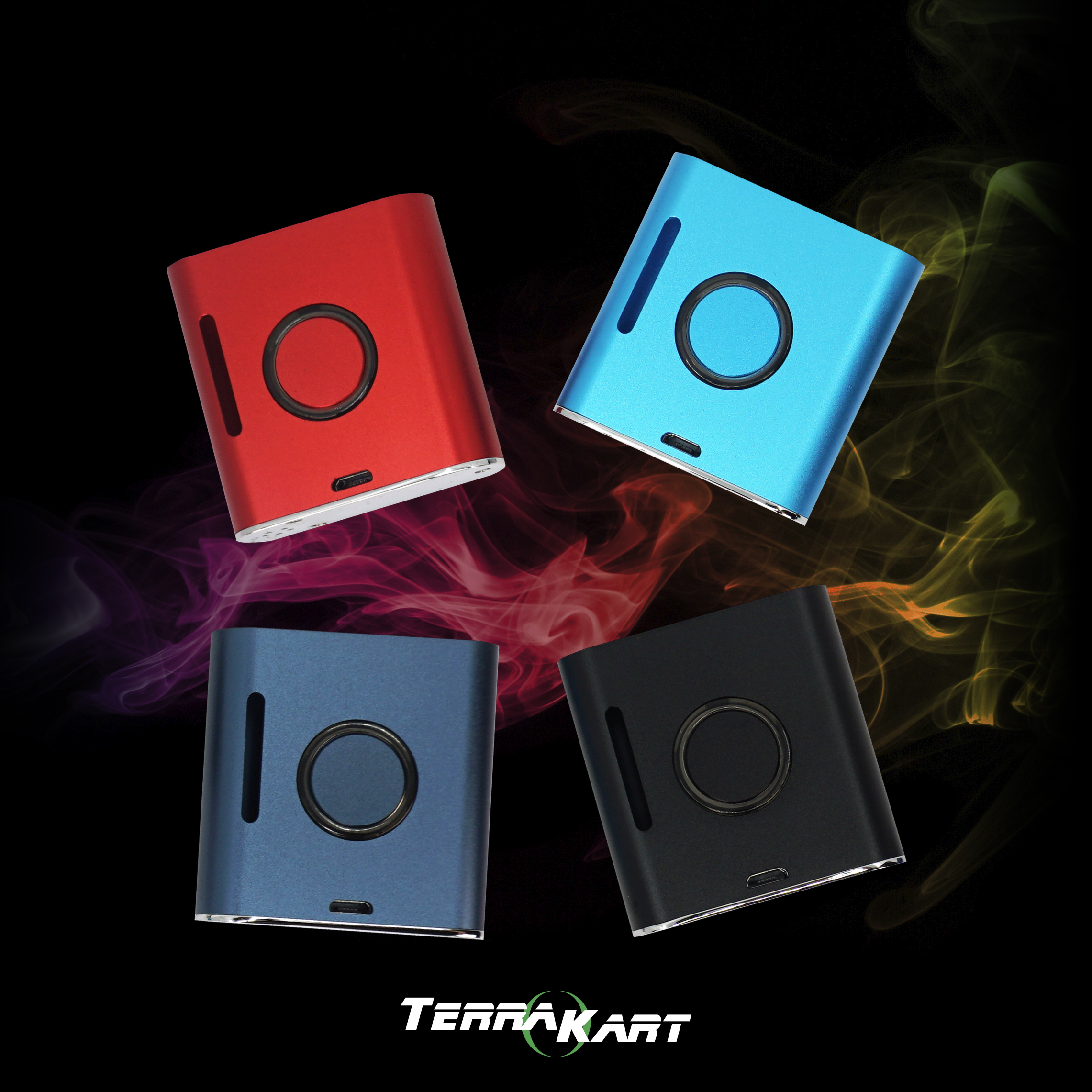 tk mod - push buttonvariable voltage (l, m, h)preheating function 900 mah micro usb charger (1) magnetic connector