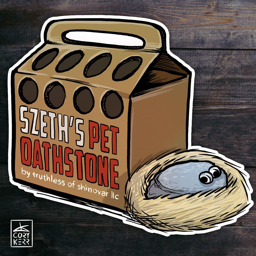 Szeth's Pet Oathstone
