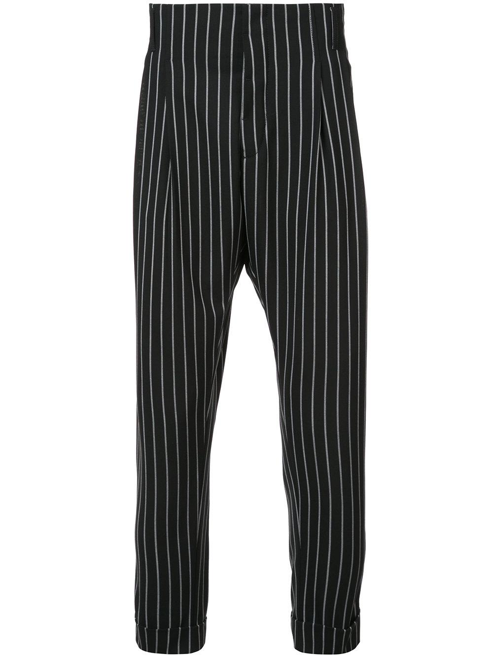 Haider Ackermann   Stripe High Rise Tailored Trouser