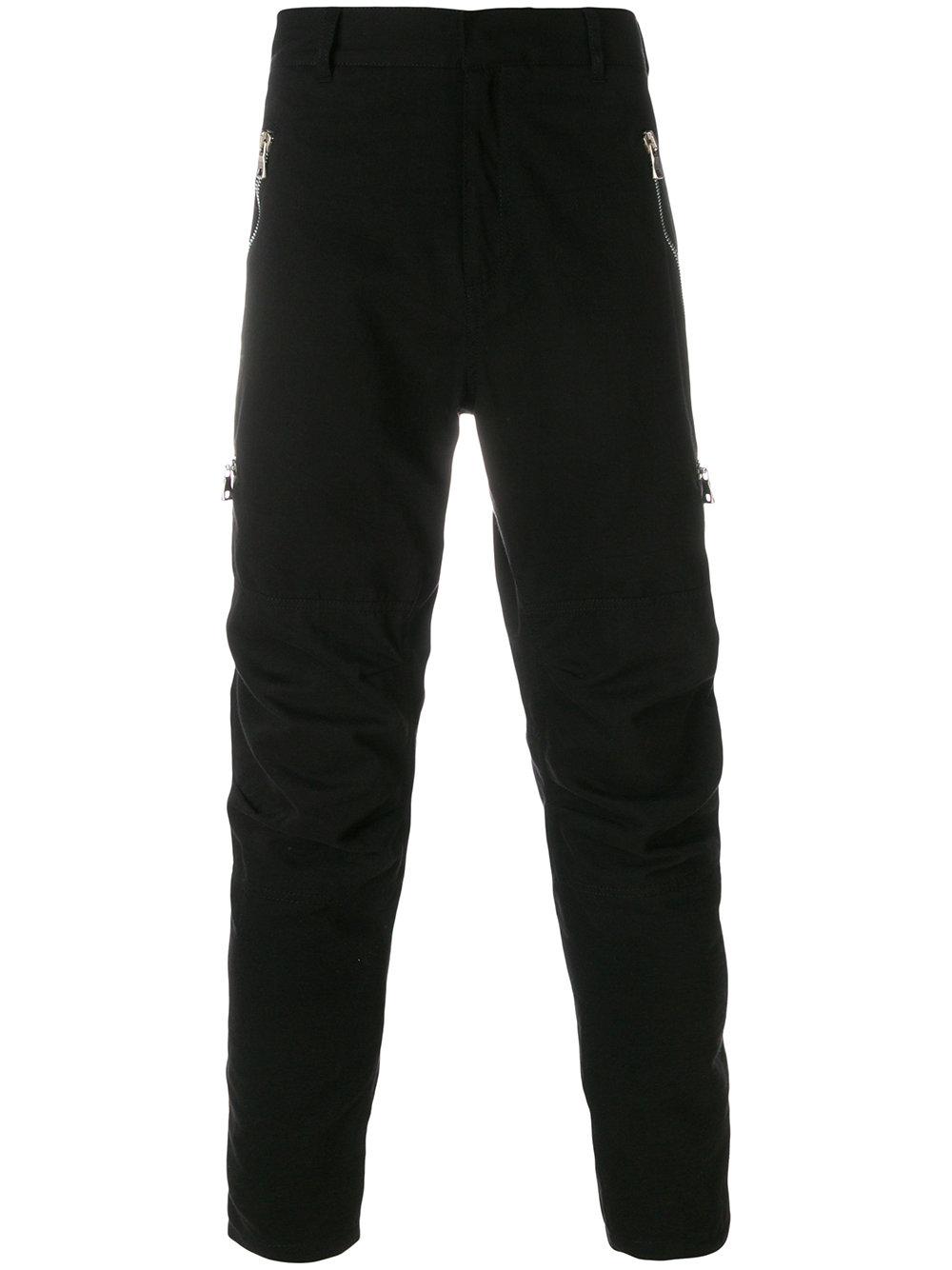 Balmain   Zipper Detail Casual Pant