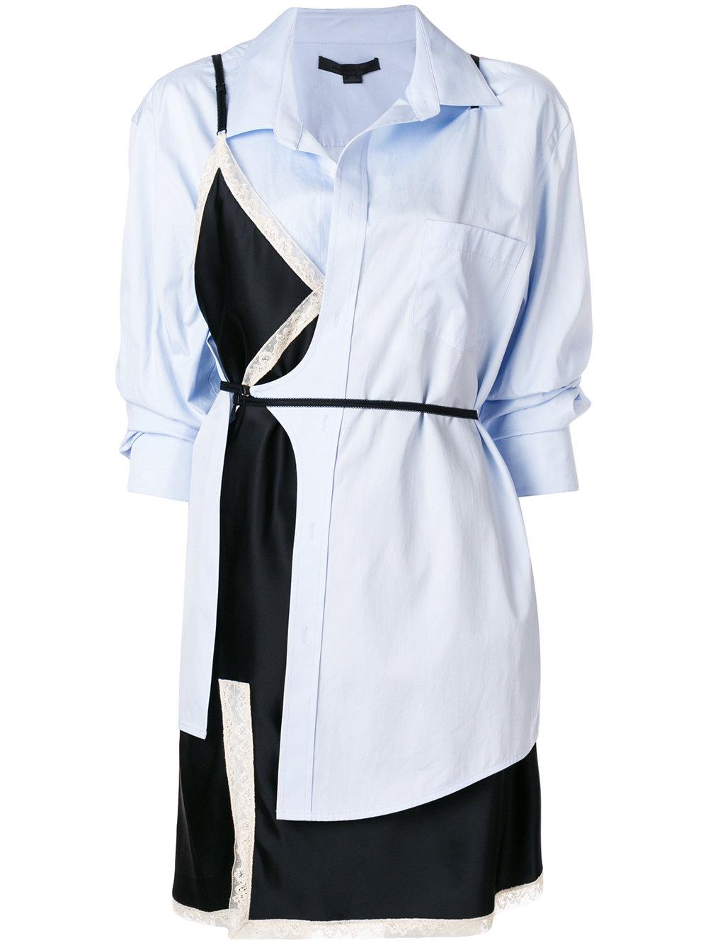 Alexander Wang   Hybrid Shirt Dress